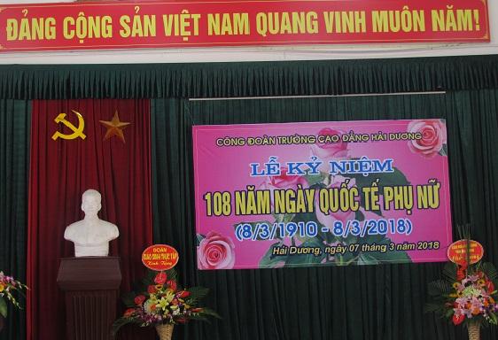 Lễ kỷ niệm 108 năm ngày Quốc tế phụ nữ Việt Nam